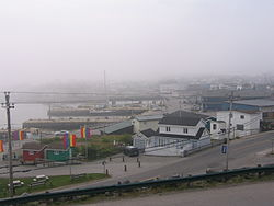 The Channel-Port aux Basques waterfront in October 2005.