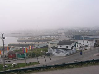 Channel-Port aux Basques Town in Newfoundland and Labrador, Canada