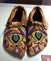 Nez Perce moccasins, Plateau region, c. 1885 - Bata Shoe Museum - DSC00473.JPG