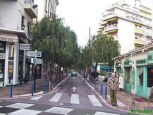 Restaurant Rue Grimaldi Nice