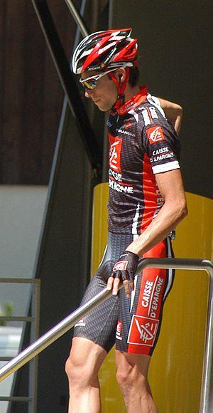 Nicolas Portal - Portal in the 2007 Tour de France