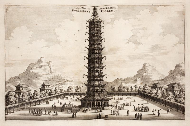 Nanjings Porcelain Tower南京瓷塔:大报恩寺遗址公园 - wuwei1101 - 西花社