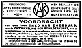 Nieuwe Apeldoornsche Courant vol 013 no 4193 advertisement Vereeniging Apeldoornsche Kunstkring.jpg