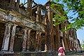 Nimitita Rajbari ruined front facade 02.jpg