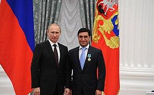 God Nisanov - God Nisanov at Order of Friendship awarding ceremony