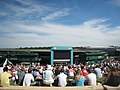 No.1 Court and the big screen at Wimbledon 2009 - geograph.org.uk - 1371686.jpg