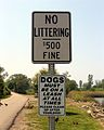 No Littering Sign in Conneaut.jpg