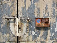 No Parking Sign in Bagni di Lucca 01.jpg