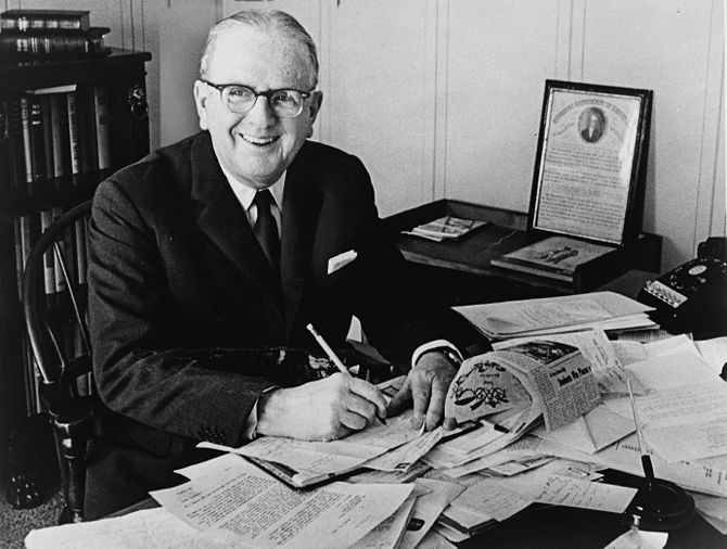 Norman Vincent Peale, Christian preacher and a...