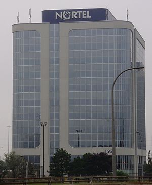 Nortel - Nortel's former head offices at 195 The West Mall