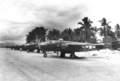 North American B-25s of the 42nd Bomb Group, Mar Strip near Cape Sansapor, New Guinea (U.S.Air Force).png