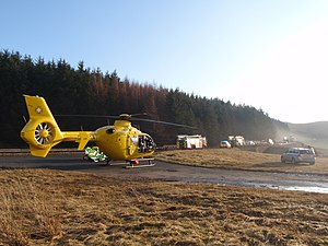 North West Air Ambulance - Most incidents handled by the North West Air Ambulance in the Cumbrian Lake District use Furness General Hospital as a primary hospital.