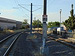 North along tracks from Meadowbrook station, Aug 16.jpg