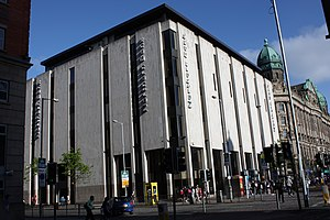Danske Bank (Northern Ireland) - Northern Bank headquarters in Belfast, prior to the Danske Bank rebrand