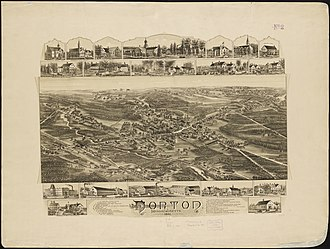 Norton, Massachusetts - In 1801