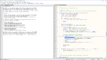 Screenshot of Notepad++