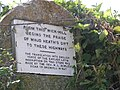 Notice on Wick Hill - geograph.org.uk - 283075.jpg