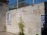 Archeological crypt of the île de la Cité