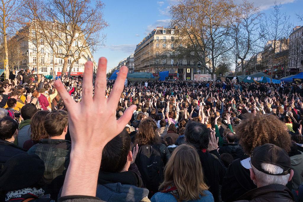 Nuit Debout - Paris - 41 mars 02
