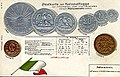 Numismatic postcard from the early 1900's - Mexico 01.jpg