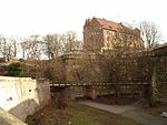 Nuremberg Castle Defensive Wall Outer f sw.jpg