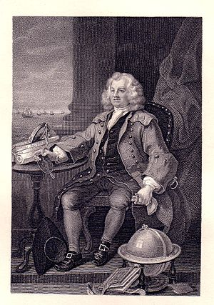 William Nutter - Thomas Coram, 1796 engraving by William Nutter after William Hogarth