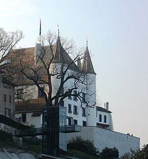 Castle in Nyon, Switzerland