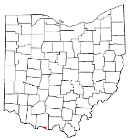 Location of Rome, Ohio
