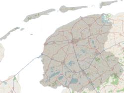 Topographie der Provinz Friesland