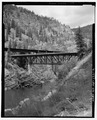 OVERVIEW, SOUTH SIDE, VIEW TO NORTH - Scenic Bridge, Spanning Clark Fork at Old Highway 10, Tarkio, Mineral County, MT HAER MT-122-2.tif