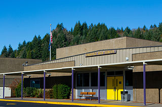 Oakridge High School (Oregon) Public school in Oakridge, Lane County, Oregon, United States