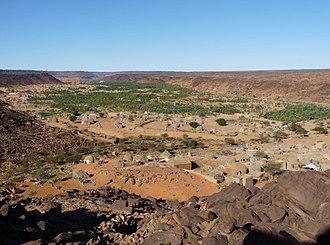 Geography of Mauritania - Oasis of Mhaïreth