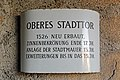 Oberes Tor in Weitra - Schild.jpg