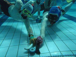 Underwater hockey Underwater sport