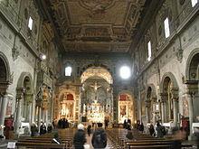 Nissan San Marcos >> Il sontuoso interno, inconsueto per una chiesa francescana