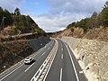 Okayama Expressway, Kibichūō Town, Kita1.JPG