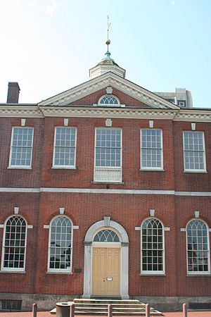 History of the Supreme Court of the United States - The Court lacked its own building until 1935; from 1791 to 1801, it met in Philadelphia's City Hall.