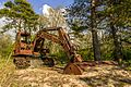 Old excavator. Forest find in Estonia.jpg