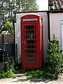 Old telephone box at the Old Post Office - geograph.org.uk - 553717.jpg