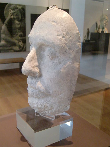 File:Oliver Cromwell, Death mask (right).jpg