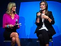 Olivia Wilde and Lara Spencer at CES 2011 4.jpg