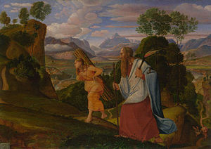 Ferdinand Olivier - Abraham and Isaac (1817)