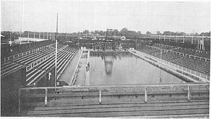 Olympic Sports Park Swim Stadium - Image: Olympic Swimming Stadium 1928
