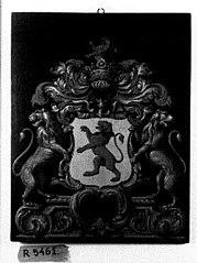 Wapenbord van Jonkheer Adam Adriaan van der Duyn (1683-1753)