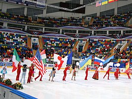 Opening ceremony at 2010 Cup of Russia.JPG