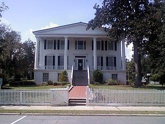 St. Marys Historic District (Georgia) - Orange Hall c.1838