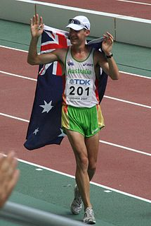 Nathan Deakes Australian race walker