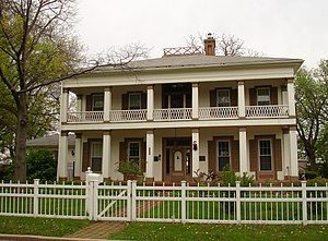 John Hossack House - Image: Ottawa IL John Hossack House 1