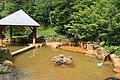 Outdoor hot spring bath in Nigorigo Onsen.jpg