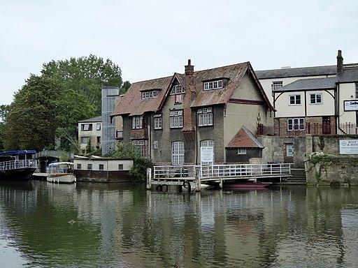 Oxford- River Thames at Folly Bridge (geograph 5118421)